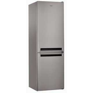 Whirlpool BSNF 8151 OX Fridge Freezer in Optic Inox