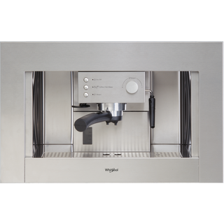 Whirlpool Absolute ACE 010/IX Built-In Coffee Machine in Stainless Steel
