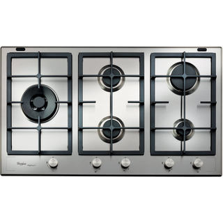 Whirlpool Fusion Built-In Gas Hob in Stainless Steel GMF 9522/IXL