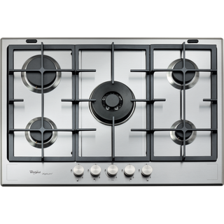 Whirlpool Fusion GMF 7522/IXL Built-In Gas Hob in Stainless Steel