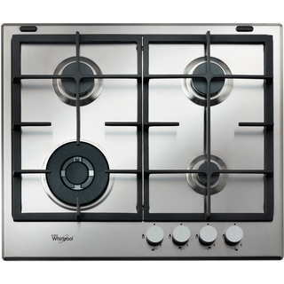 Whirlpool Absolute Built-In Gas Hob in Stainless Steel - GMA 6422/IX