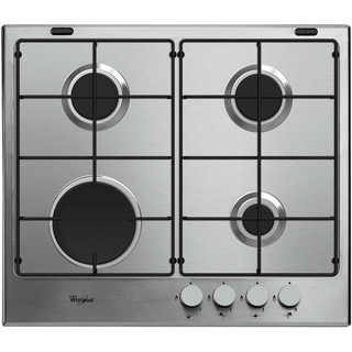 Whirlpool Absolute Built-In Gas Hob in Stainless Steel GMA 6411/IX