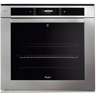 Whirlpool Fusion Built-In Oven in Stainless Steel AKZM 6692/IXL