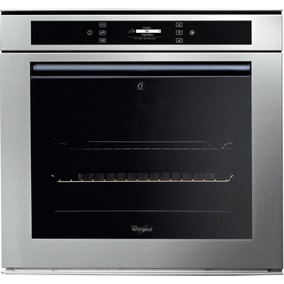 Whirlpool Fusion Built-In Oven in Stainless Steel AKZM 694/IX