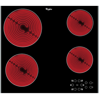 Whirlpool AKT 8090 LX Built-In Ceramic Hob in Black