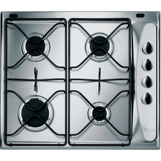 4 Burner Gas Hob in Stainless Steel AKM 260/IX