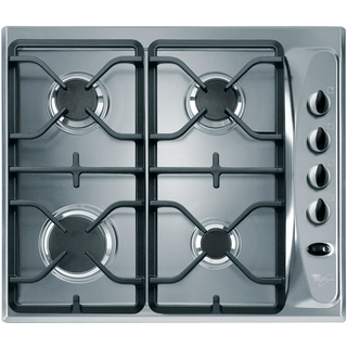 4 Burner Gas Hob in Stainless Steel AKM274/IX