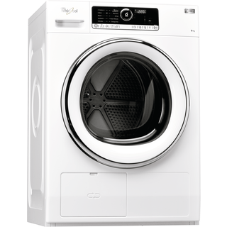 Whirlpool Supreme Care Tumble Dryer in White - HSCX 90423