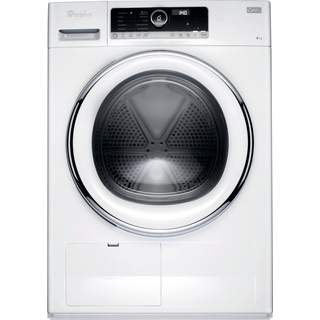 Whirlpool Supreme Care Tumble Dryer in White HSCX 90423