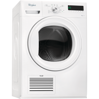 Whirlpool Domino Tumble Dryer in White DDLX 80114