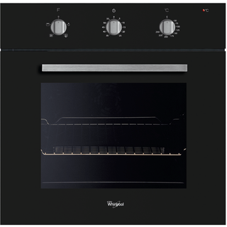 Muilti-function Single Oven In Black AKP 490/NB