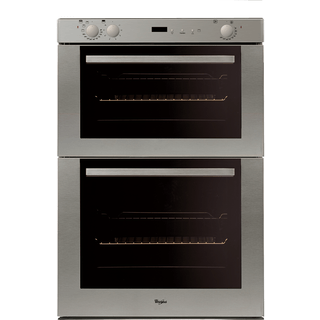 Whirlpool Built-Under Double Oven in Stainless Steel AKW 301 IX