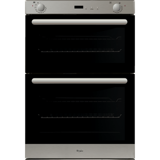 Whirlpool Built-In Double Oven in Stainless Steel AKW 401 IX