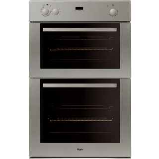Whirlpool Built-In Double Oven in Stainless Steel AKW 601 IX