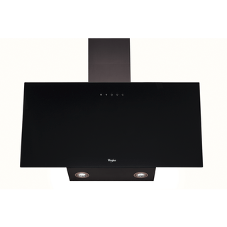 Whirlpool Built-In Cooker Hood in Black AKR 039 G UK BL