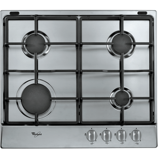4 Burner Gas Hob in Stainless Steel AKR 311/IX