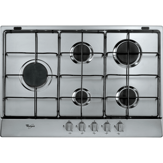 5 Burner Gas Hob in Stainless Steel AKR 315/IX/01