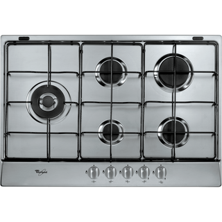 5 Burner Gas Hob in Stainless Steel AKR 317/IX