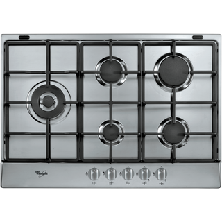 5 Burner Gas Hob in Stainless Steel AKR 318/IX