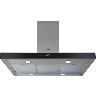 Whirlpool Built-In Cooker Hood in Stainless Steel AKR 504 UK IX