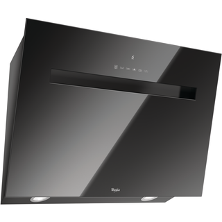 Whirlpool Built-In Cooker Hood in Black AKR 808 UK BK