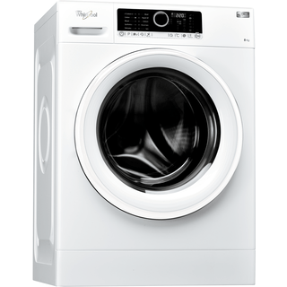 Whirlpool SupremeCare FSCR80410 Washing Machine in White