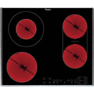 Whirlpool Built-In Ceramic Hob in Black AKT 8700 IX
