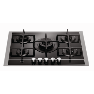 Whirlpool Built-In Gas Hob in Black GOF 7523/SB
