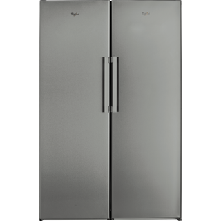 Whirlpool Fjord SW8 AM2C XR Fridge in Optic Inox