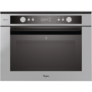 Whirlpool Fusion Built-In Microwave in Stainless Steel AMW 834/IXL