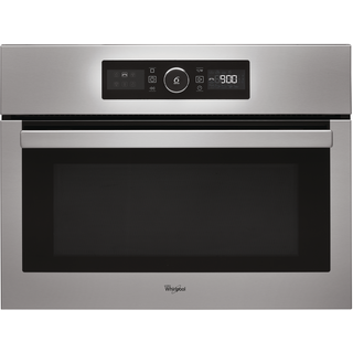 Whirlpool Absolute Built-In Microwave in Stainless Steel - AMW 515/IX