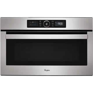 Whirlpool Absolute AMW 730/IX Built-In Microwave in Stainless Steel