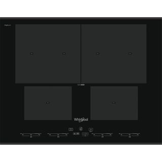 Whirlpool SmartCook Hob in Black SMO 654 OF/BT/IXL