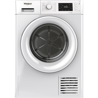 Whirlpool Heat Pump Tumble Dryer: Freestanding, 9kg - FT M22 9X2 UK