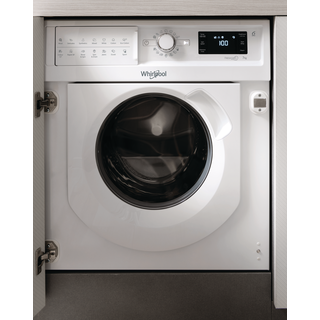 Whirlpool BI WMWG 71253 UK Integrated Washing Machine in White