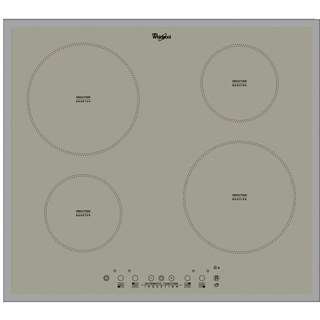 4 Zone Induction Hob in Silver ACM 804/BA/S
