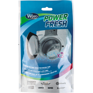 Power Fresh cleaning tabs x3 for Washing Machine AFR300