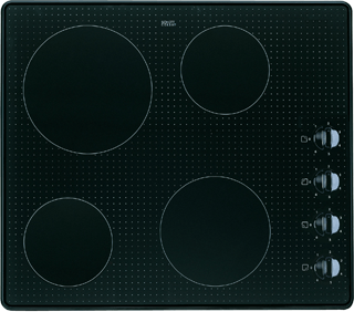 4 Zone Ceramic Hob in Black AKM 359/NE