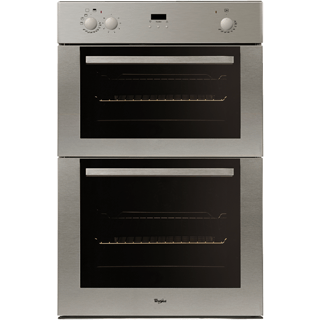 Multi-function Double Oven in Inox AKZ 517/02/IX