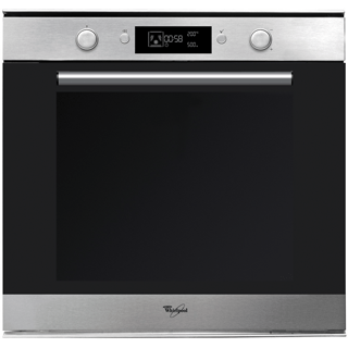 Multifunctional Single Oven with 73-litre capacity in Inox AKZM 778/IX