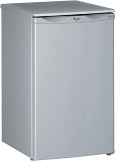 Undercounter Larder Fridge in Satina Mist ARC 900 IS
