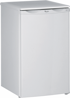 Undercounter Larder Fridge with Ice Box in White ARC 903