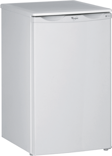 Undercounter Fridge with Ice Box in White ARC 903 AP