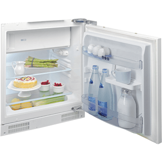 Undercounter Fridge-Freezer in White ARG 646 A+