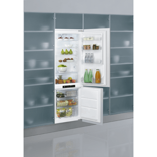 Built-in 70:30 Frost Free Fridge Freezer with LED Display ART 871/A+/NF