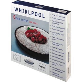 Large Crisp Plate for Whirlpool microwave with crisp function AVM280