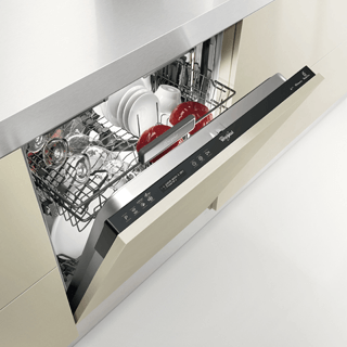 Whirlpool SupremeClean WFE 2B19 Dishwasher in White 3
