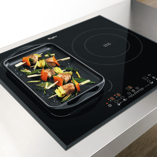 Whirlpool ACM 808/BA/S Built-In Induction Hob in Silver Dawn 3