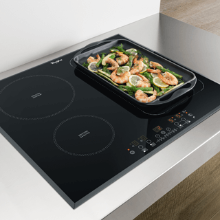 Whirlpool  Built-In Induction Hob in Black ACM 868/BA/IXL 5