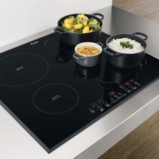 Whirlpool  Built-In Induction Hob in Black ACM 868/BA/IXL 6